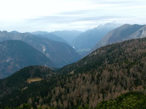 Pogled v Bovško kotlino